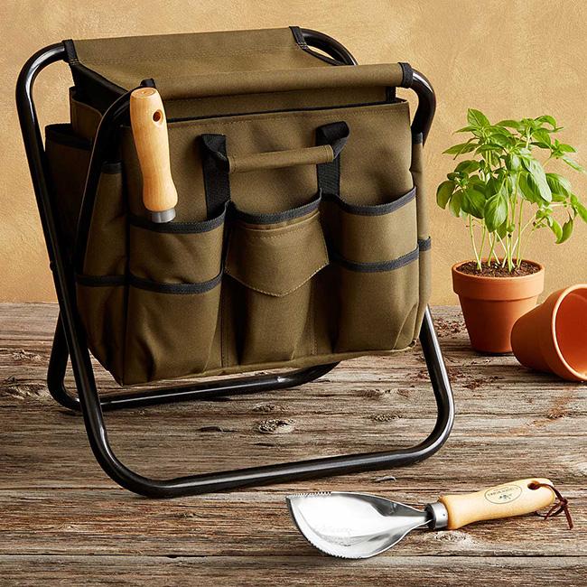 Gardener's Tool Seat | UncommonGoods