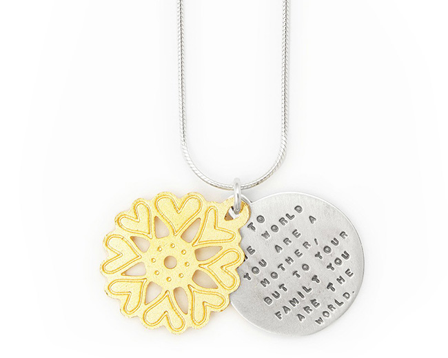 Mother of the World Necklace | UncommonGoods