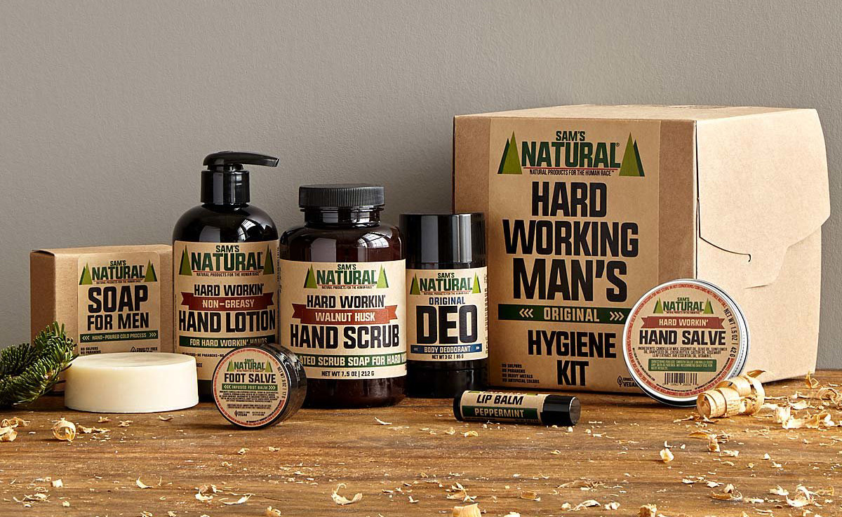 Hard Working Man's Hygiene Kit | UncommonGoods