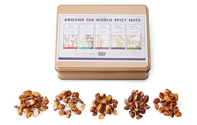 Around the World Spicy Nut Collection | UncommonGoods