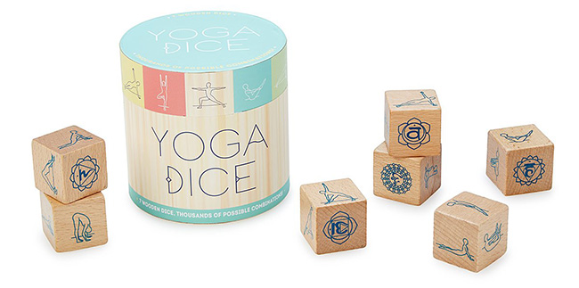 Yoga Dice | UncommonGoods