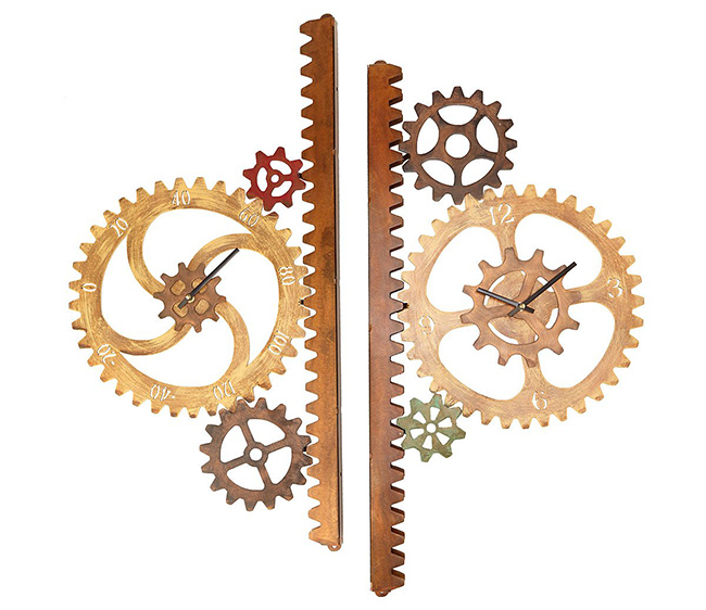 Garden Gears Outdoor Clock & Thermometer | UncommonGoods