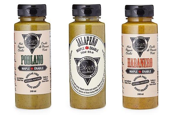 Maple Hot Sauce Trio | UncommonGoods
