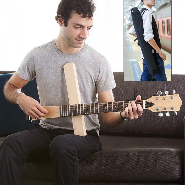 Folding Travel Guitar | UncommonGoods