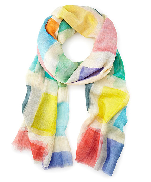 Art of Giving Color Block Scarf | UncommonGoods