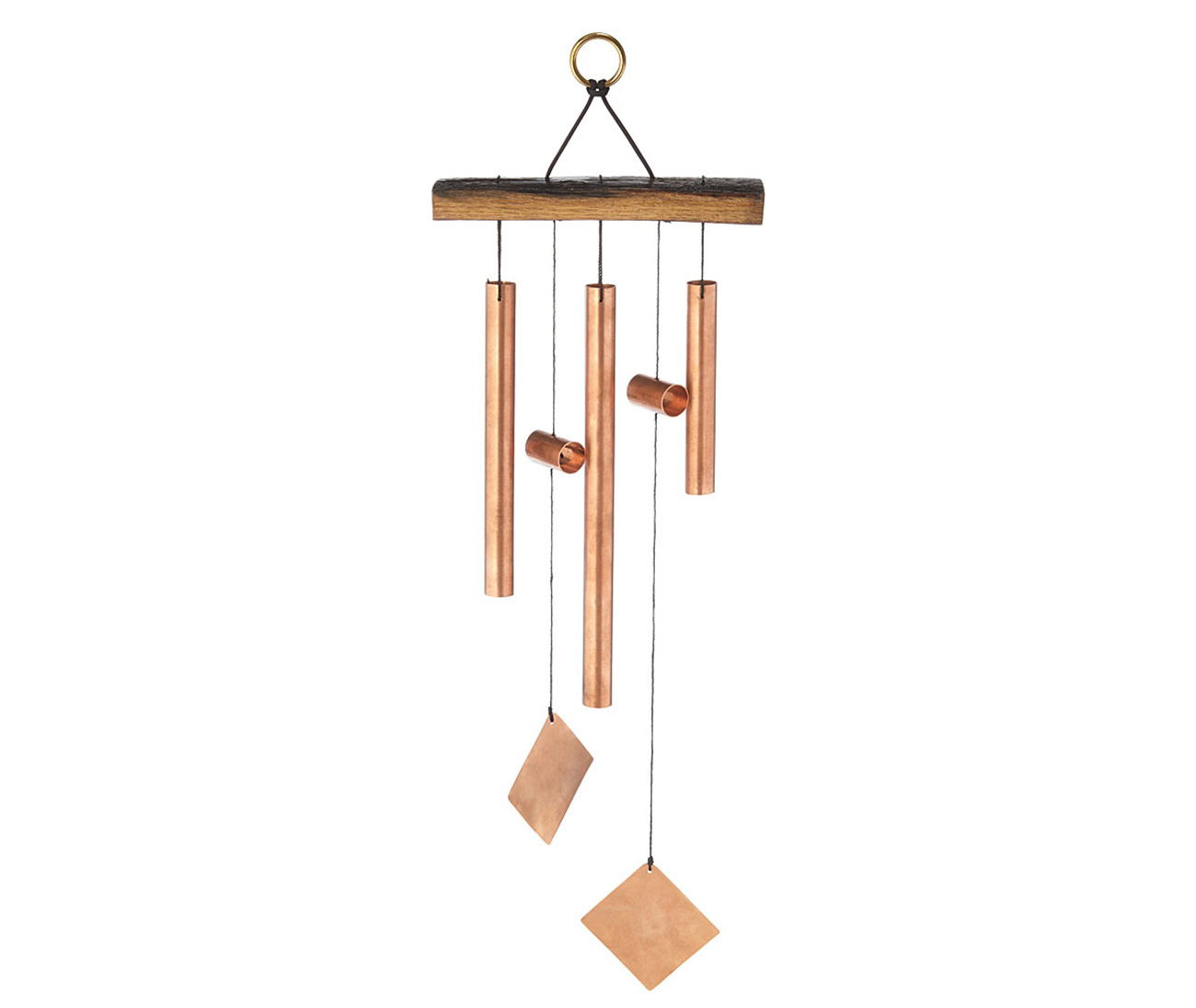 Bourbon Barrel Wind Chime | UncommonGoods