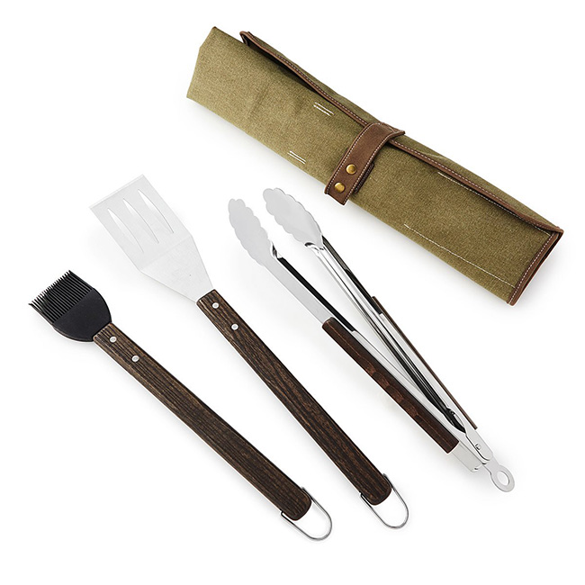 BBQ Tool Roll | UncommonGoods