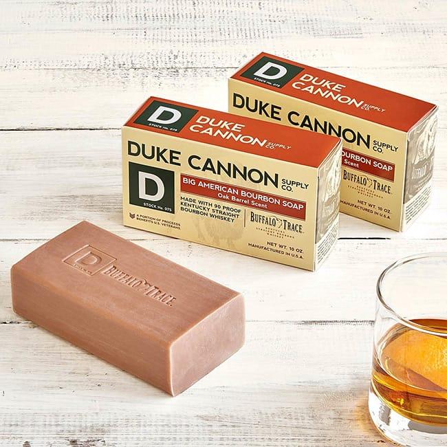 Bourbon Soap Set | UncommonGoods
