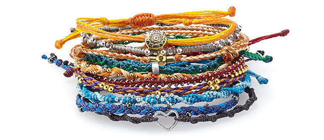 Earth and Beyond Set of 10 Bracelets | UncommonGoods
