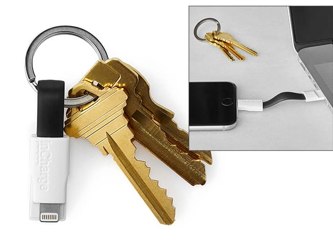 Keyring Charging Cable | UncommonGoods