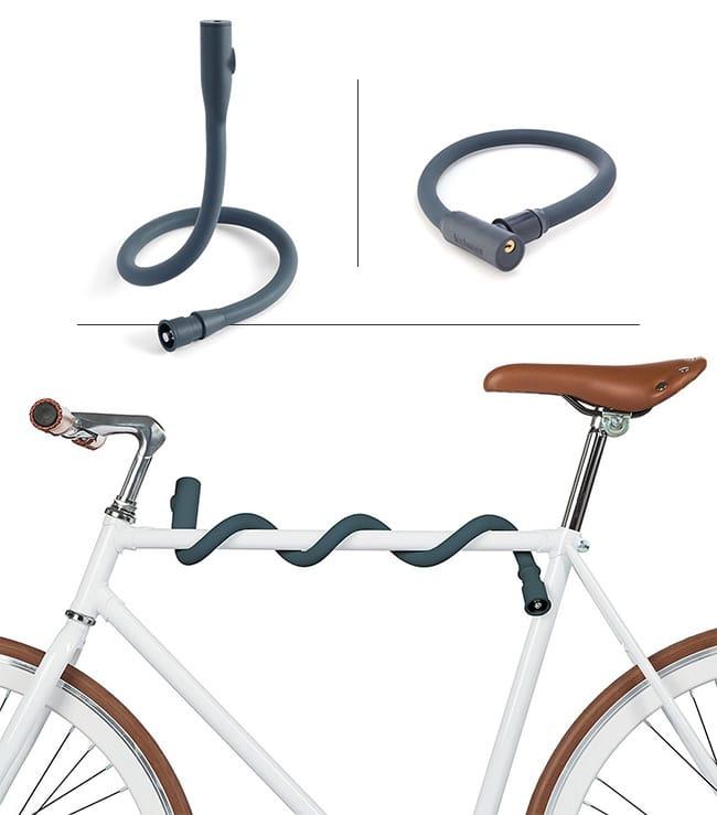 Shape-Shifting Bike Lock | UncommonGoods