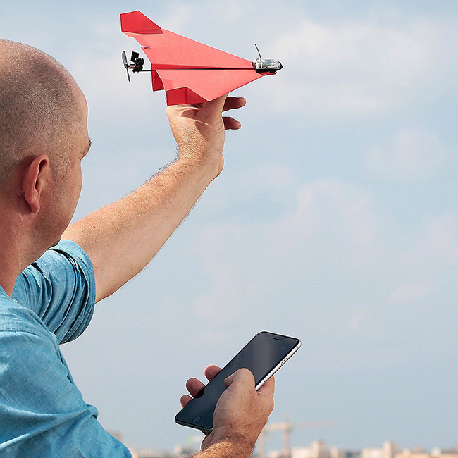 Smartphone-Controlled Paper Airplane | UncommonGoods