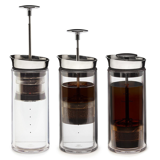 No Mess Coffee Press | UncommonGoods