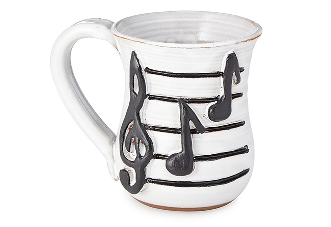 Musical Notes Mug | UncommonGoods