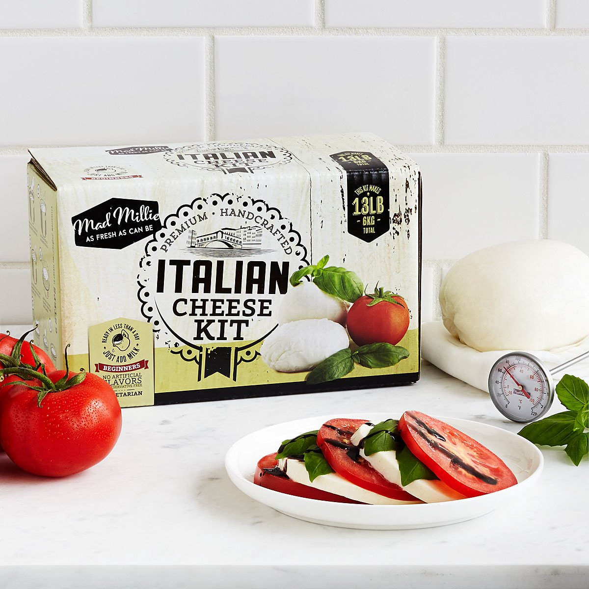 Italian Cheesemaking Kit | UncommonGoods