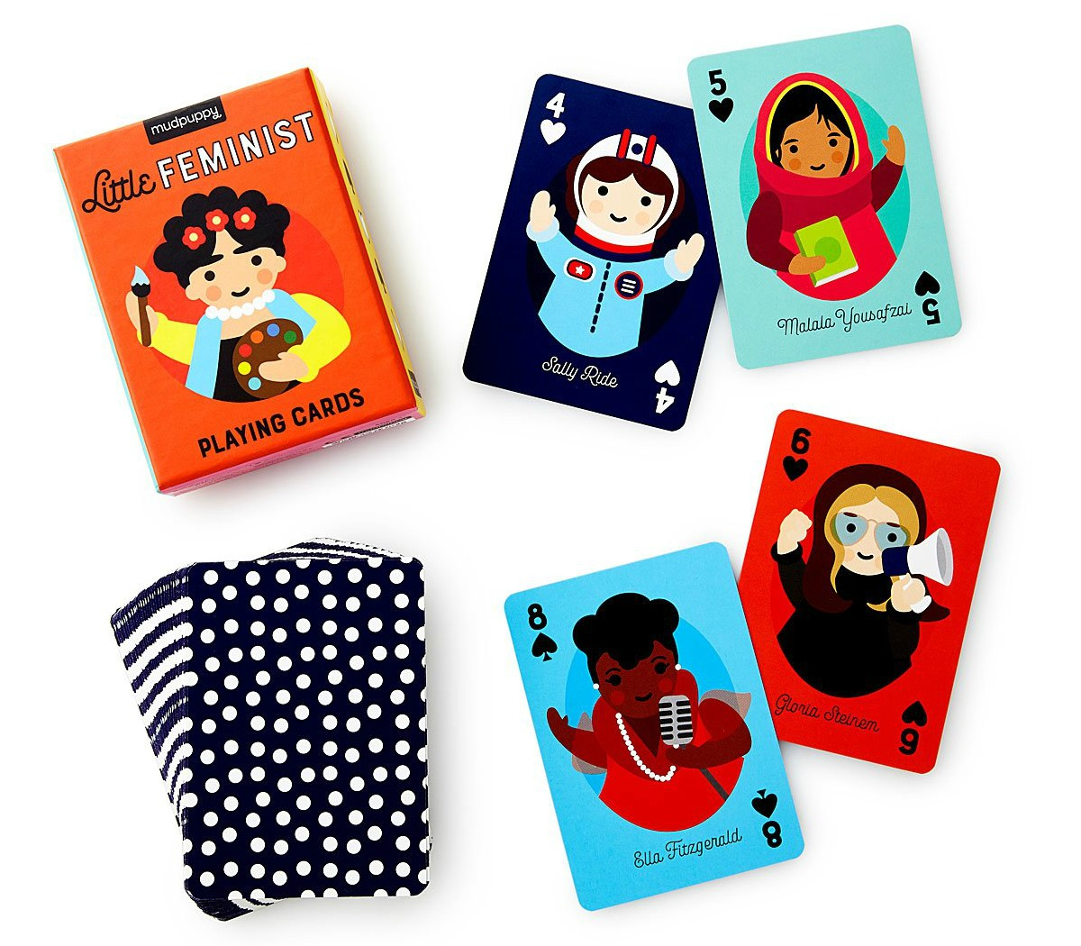 Little Feminist Card Deck | UncommonGoods