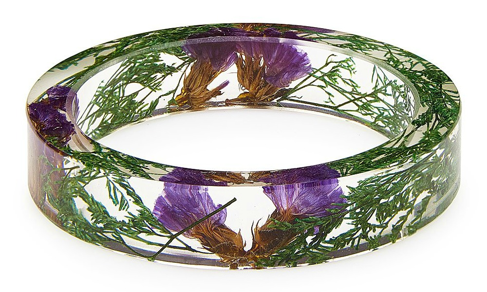 Midnight Thicket Botanist Collection Bangle | UncommonGoods