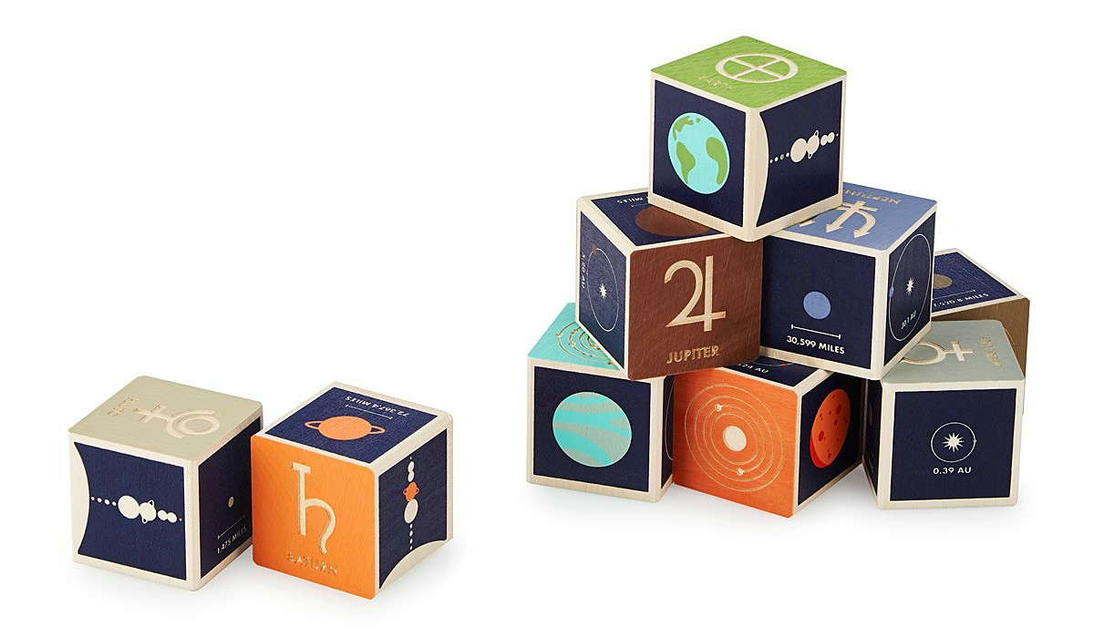 Planet Blocks | UncommonGoods