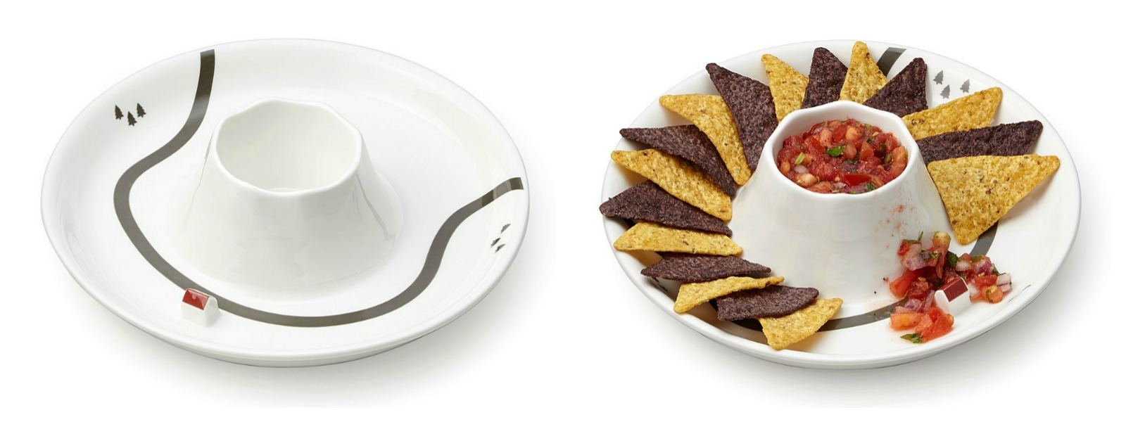 Taste Explosion Dip & Chip Platter | UncommonGoods