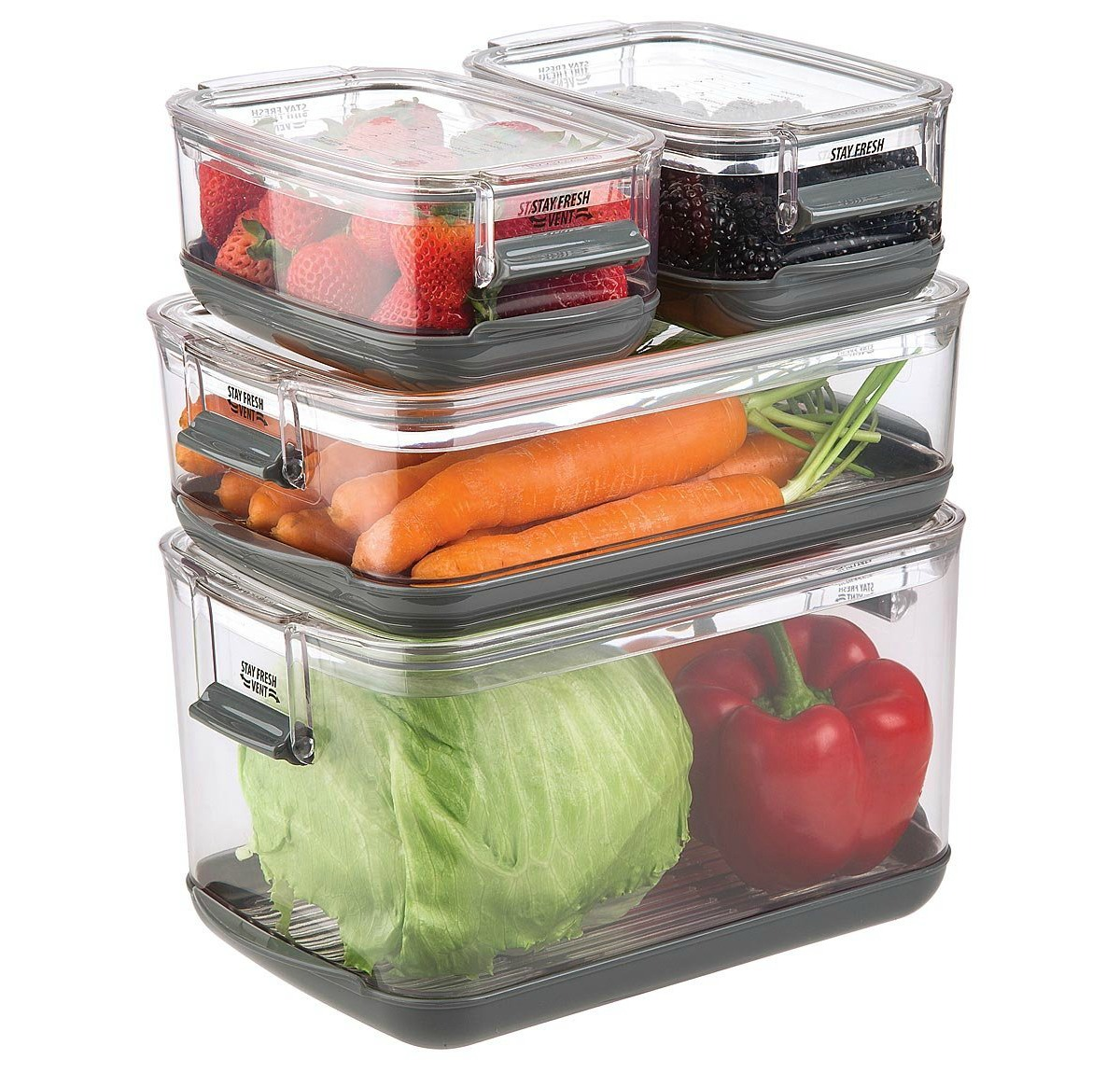 Veggie Smart Storage Containers | UncommonGoods