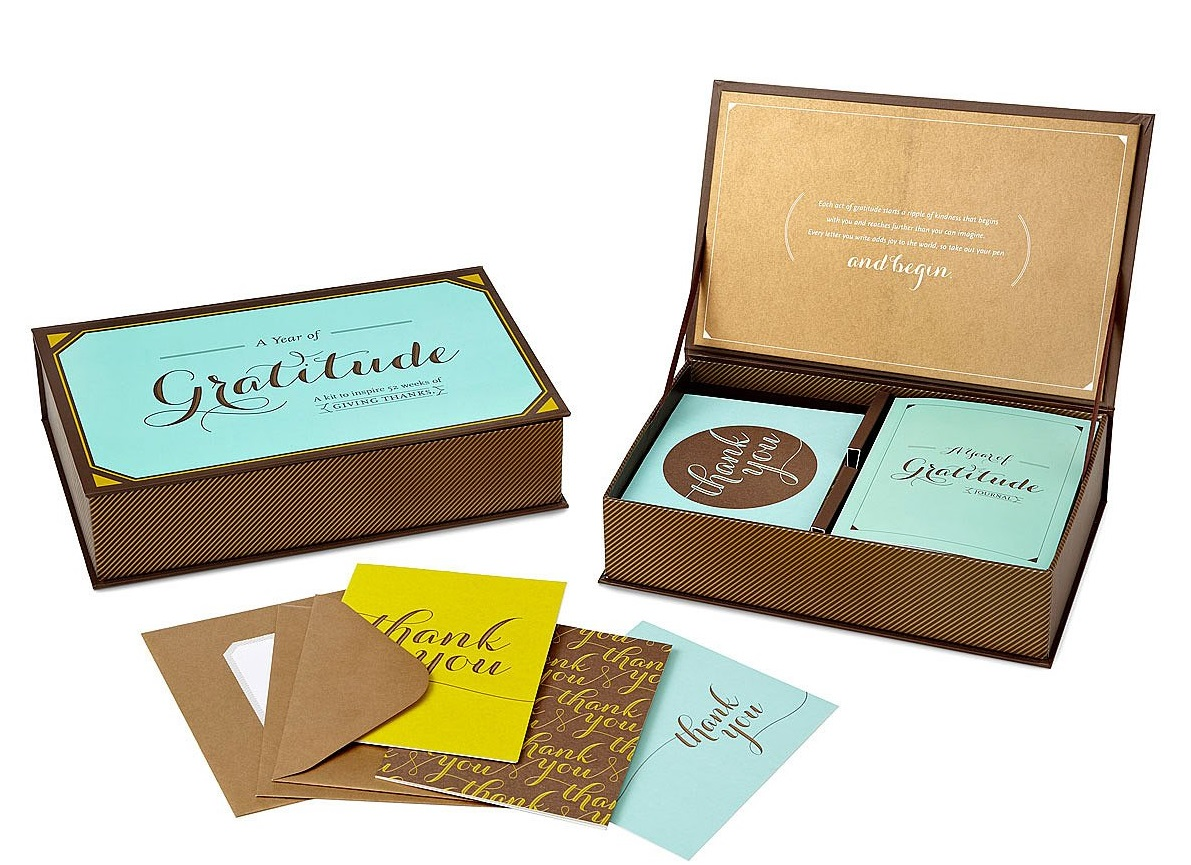 A Year of Gratitude Anniversary box set