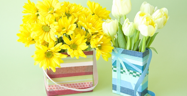 The Recycling Bin: May Day Baskets