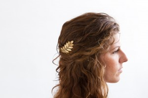 Fern Leaf Hair Comb