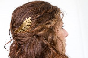 fern leaf hair comb