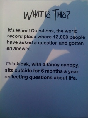 wheel questions