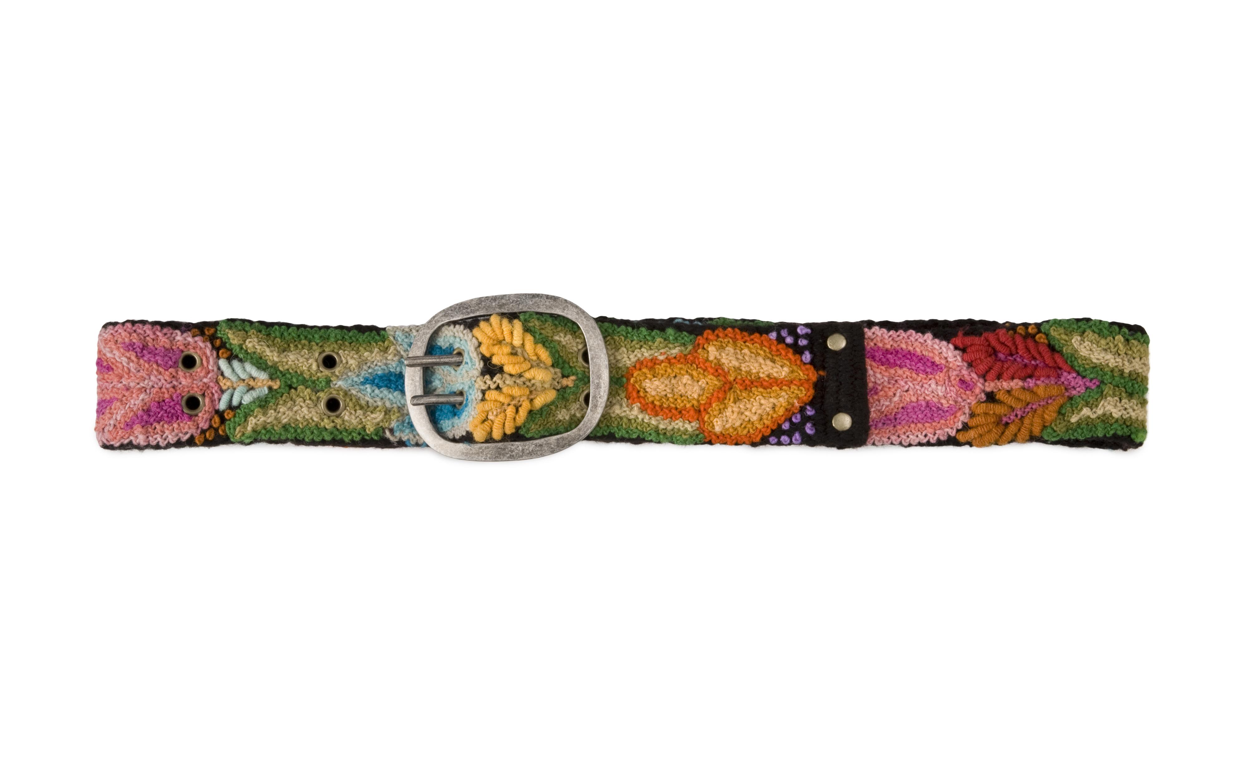 19703_black floral belt