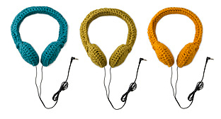 Uncommon Goods Crocheted Headphones