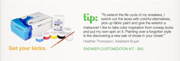 sneakers kit
