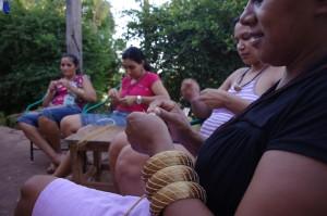 Aurea_Artisans weaving Golden Grass 1
