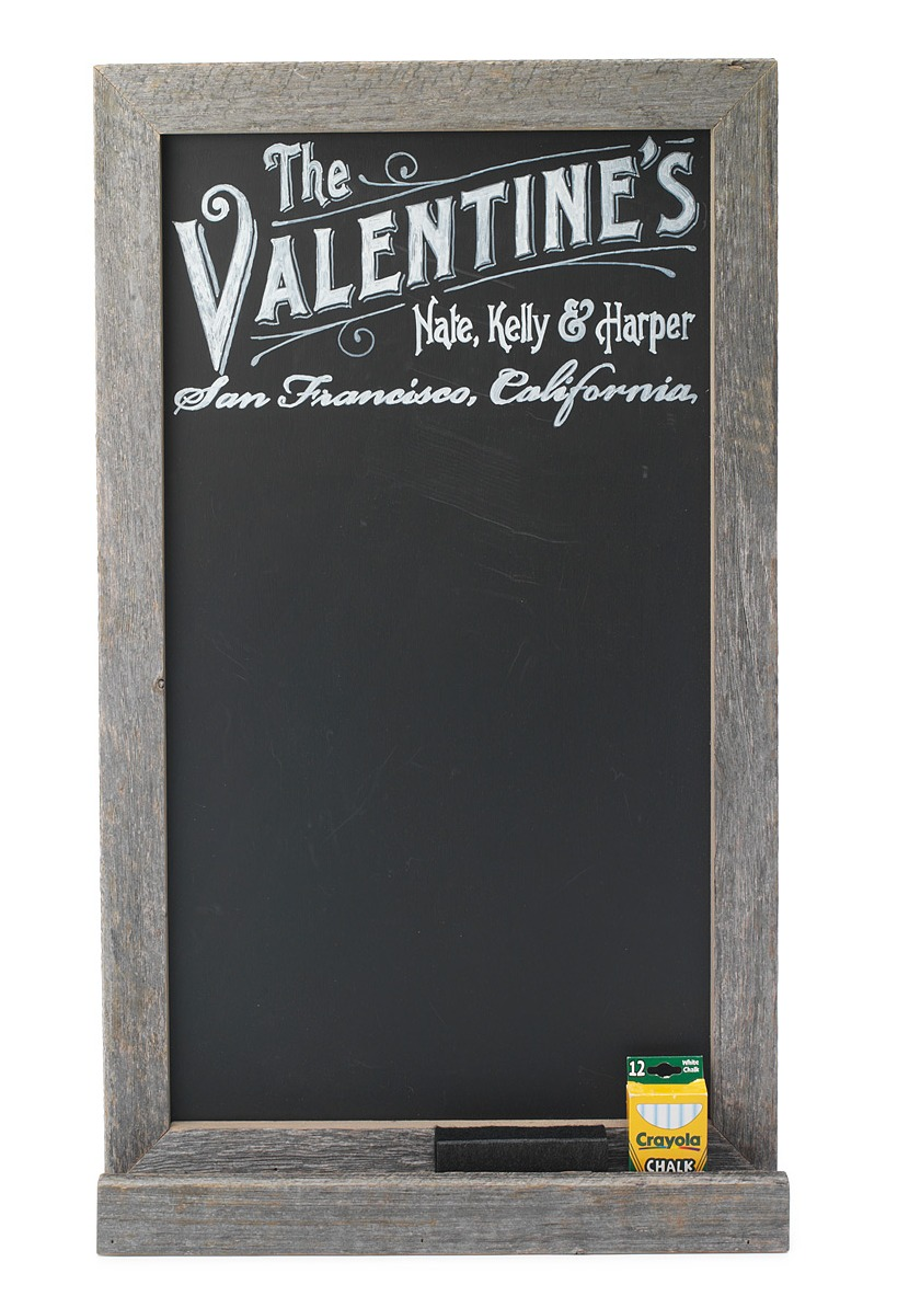 Personalized Chalk Board