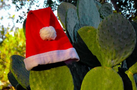 sweltering santa