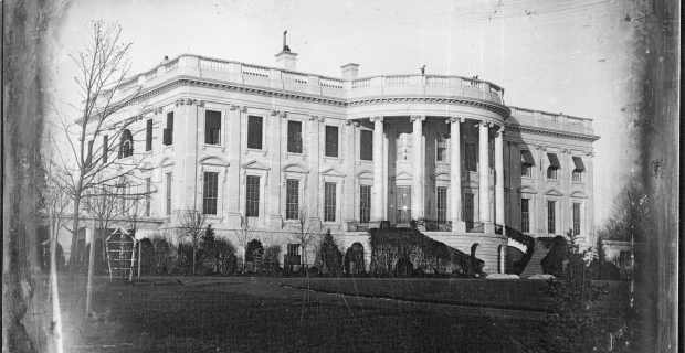 What's so uncommon about a big white house?