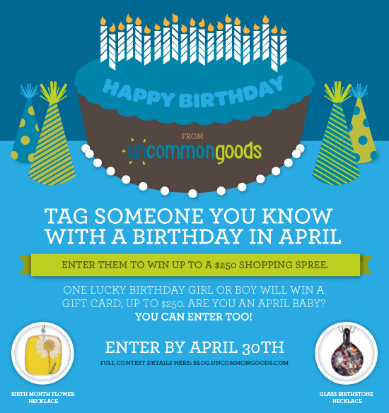 Happy Birthday April Babies The Goods
