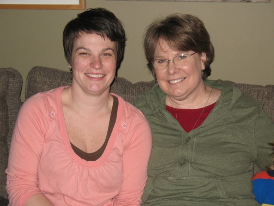 Ana and her mom