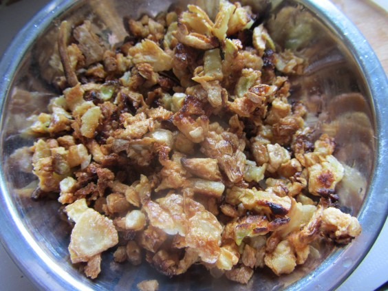garlic-fried