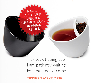 tipping tea cups