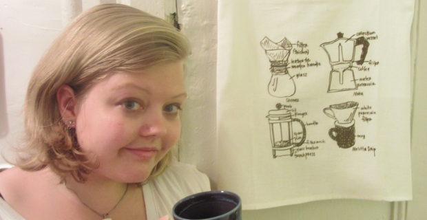 How to Style Tea Towels in Two Rooms