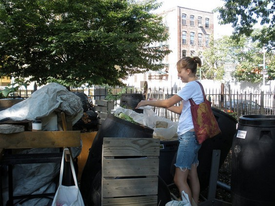 Photo: North Brooklyn Compost Project, August 9, 2008