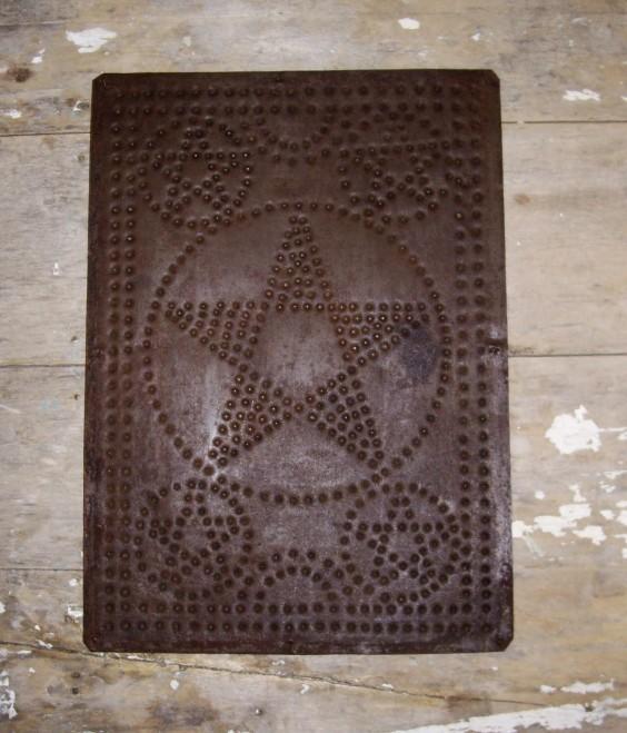 Pie Safe Tin panel