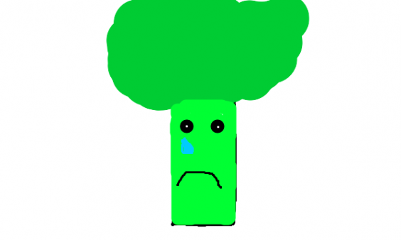 crying broccoli - larger