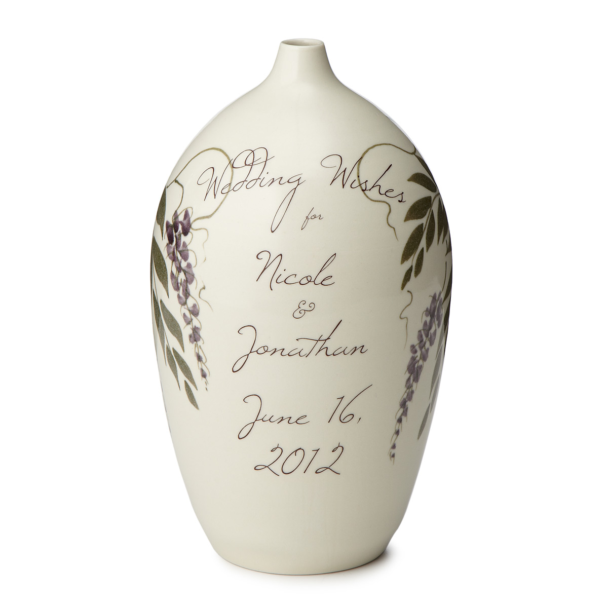 Wedding Wishes Vase