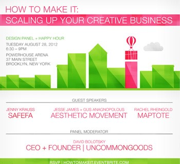 How To Make It: Scaling Up Your Creative Business
