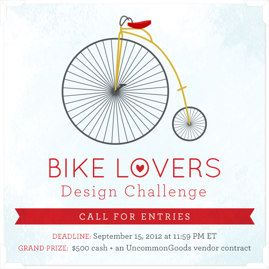 Bike Lovers Design Challenge | UncommonGoods
