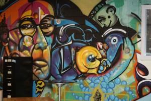 Mural | TerraCycle Studio Tour | UncommonGoods