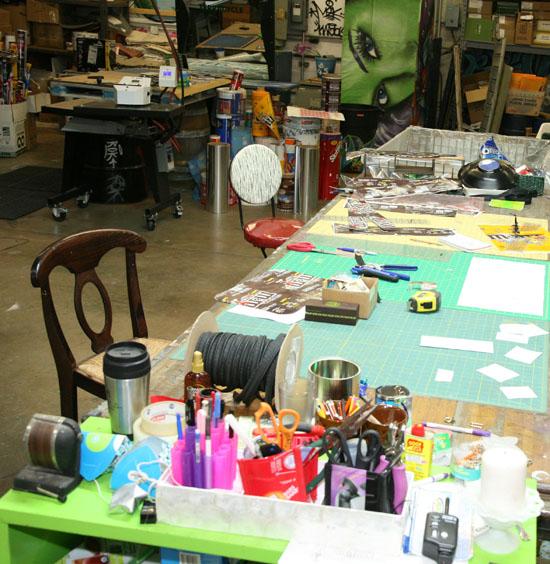 Inside The Designers Studio: Inside The Designer's Studio: Tiffany Threadgould Of TerraCycle -The Goods