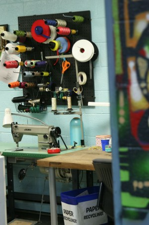 Sewing Machine | TerraCycle Studio Tour | UncommonGoods